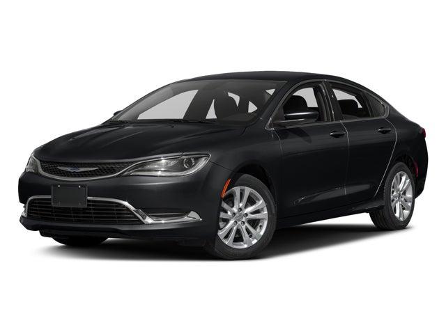 Used 2016 Chrysler 200 Limited phantom black tri-coat pearl exterior 5331 miles Stock D803053UC